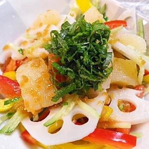 数の子野菜の醤油麹甘酢漬け
