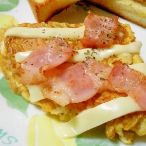 チーズたっぷりベーコンオムレツ(UC対応)