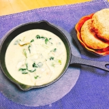 【糖質制限】豆乳のグリーンカレー