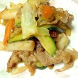焼肉のタレで簡単に♡トッポギ入り野菜炒め