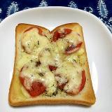 マルゲリータ風トースト