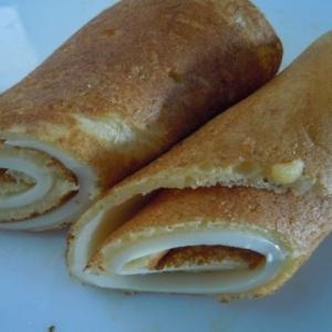 大豆粉でチーズロール