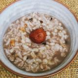 雑穀米のお粥
