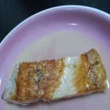 鮭のムニエル♪レモンバターソース