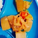 離乳食☆鶏胸肉と白菜と大根と人参の煮物