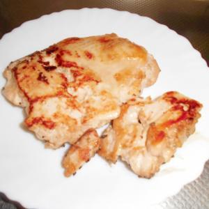 鶏むね肉のゴマ焼き
