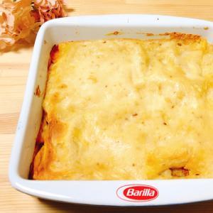 チーズの風味のポテト&ラザニア