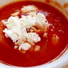 シーフードトマトスープ