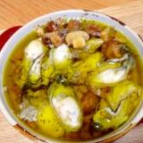 プリプリ牡蠣のオリーブオイル煮