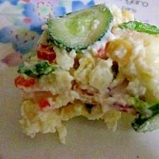 家で作るポテトサラダ
