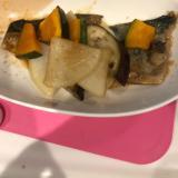 野菜たっぷり!サバの味噌煮