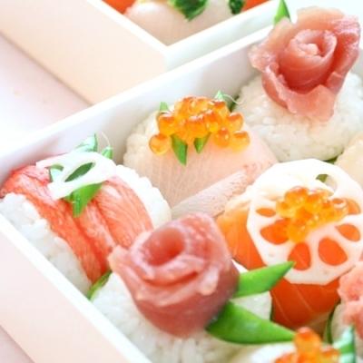 お花がいっぱい!「花畑寿司」でひな祭りを可愛く盛り上げよう