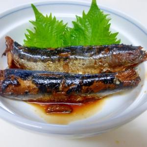 骨まで食べられる いわしの生姜煮