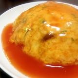 Chinese☆具だくさんなふわふわ卵の天津飯