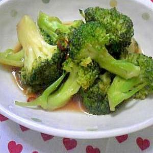 ブロッコリーの中華炒め