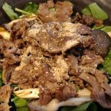 牛肉の簡単炒め