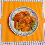 白身魚と野菜のミートソース焼き♪