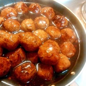 冷凍おかず☆肉団子の甘酢あんかけ