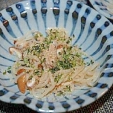 素朴な薄味 椎茸と白滝の和え物