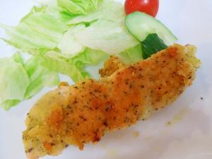 鮭の香味焼き*バジルチーズ風味