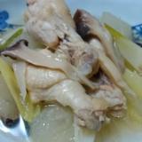 しっかりダシが出た 鶏手羽元と冬瓜のスープ