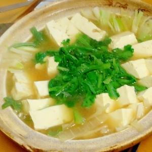ヘルシー、豆腐鍋
