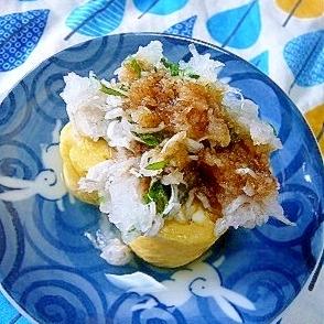 ❤ 朝食に! 大葉&シラス卸しのせ卵焼き ❤