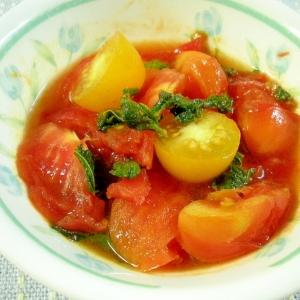 ☆ミニトマトの炒めマリネ☆