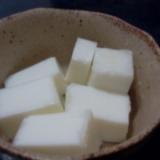 甘さおさえた牛乳寒天
