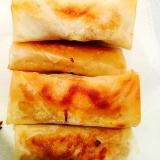 豚ひき肉ともやしの味噌味の春巻き