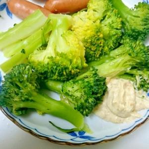 野菜に万能「ごまマヨネーズ」