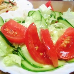 昭和のサラダ