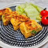 ニラと搾菜の卵焼き