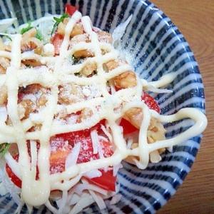 くるみの野菜サラダ