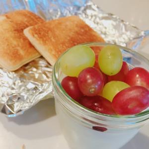 フルーツ&メープルシロップの牛乳寒天