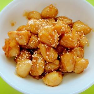 ぼんじりの甘辛生姜煮