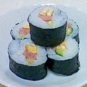 お手軽巻き寿司
