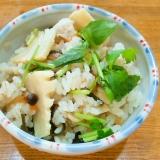 竹の子の炊き込みご飯