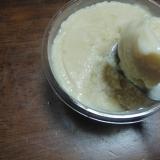 牛乳と卵で 濃厚アイスクリン