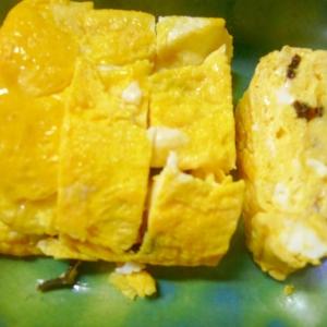 塩昆布de卵焼き