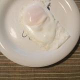 バター目玉焼き