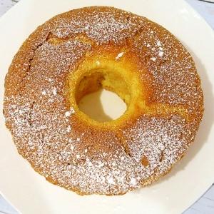米粉100%のシフォンケーキ(グルテンフリー)