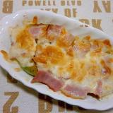 簡単!カボチャのチーズ焼き