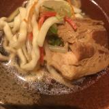 沖縄の味♡豚の角煮で簡単ソーキそば風