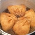 餅巾着の煮物
