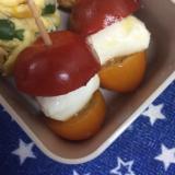 お弁当に♪ミニトマトのカプレーゼ