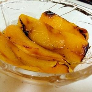 パプリカの焼きマリネ
