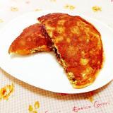 干し柿入り♪米粉のヘルシーパンケーキ