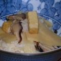 水煮タケノコでも美味しい!タケノコの炊き込みご飯