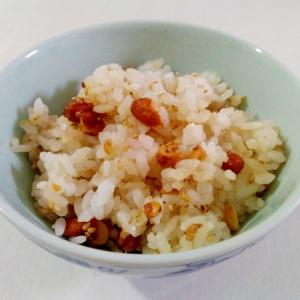 混ぜるたけで簡単☆ピーナッツ味噌ご飯